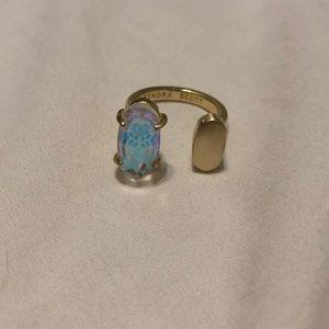 Kendra Scott dichroic adjustable ring!
